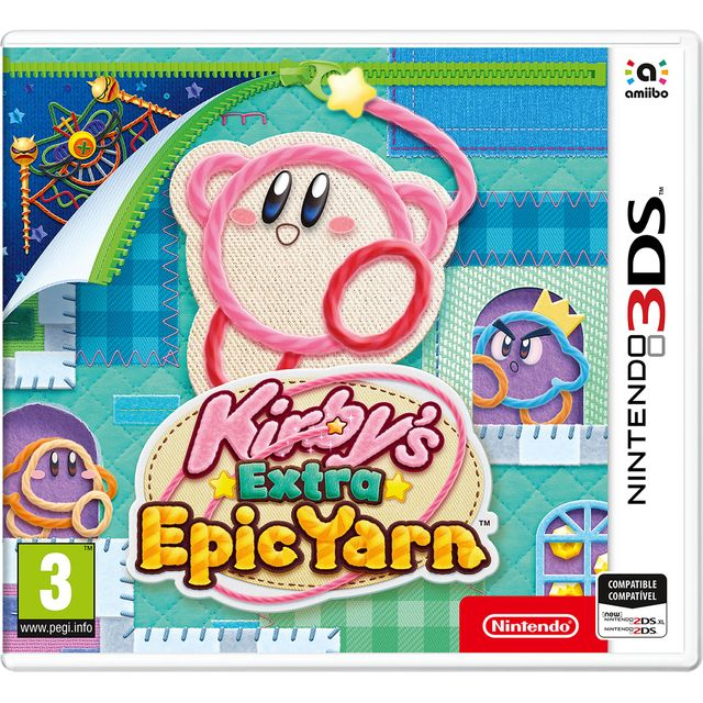 Kirby's Extra Epic Yarn for Nintendo 3DS - 2240646 - 1