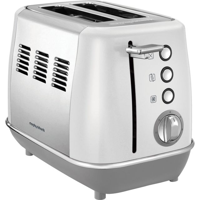 Morphy Richards Evoke 224409 2 Slice Toaster - White - 224409_WH - 1