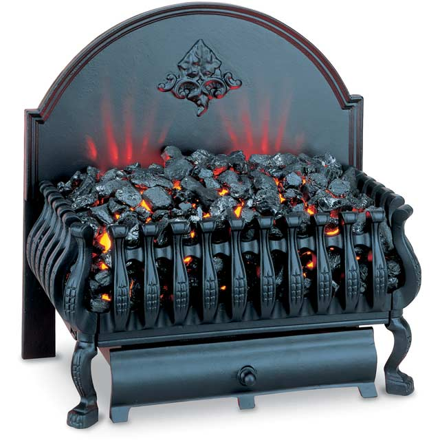 Burley Cottesmore 224BL Coal Bed Basket Fire - Black - 224BL_BK - 1