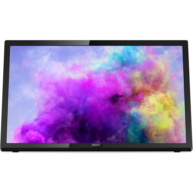 Philips TV 5300 22PFT5303/05 Led Tv in Black Gloss