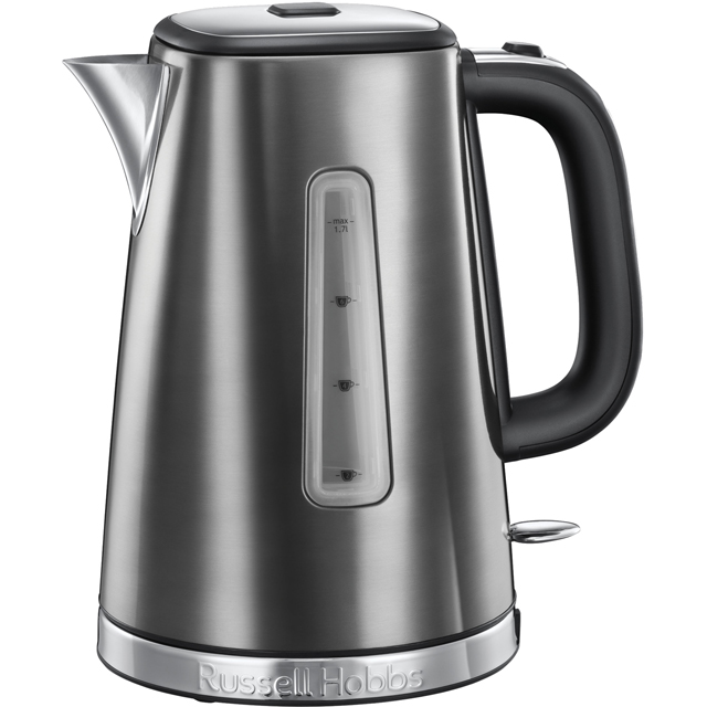 Russell Hobbs Luna Quiet Boil 23211 Kettle - Grey - 23211_GY - 1