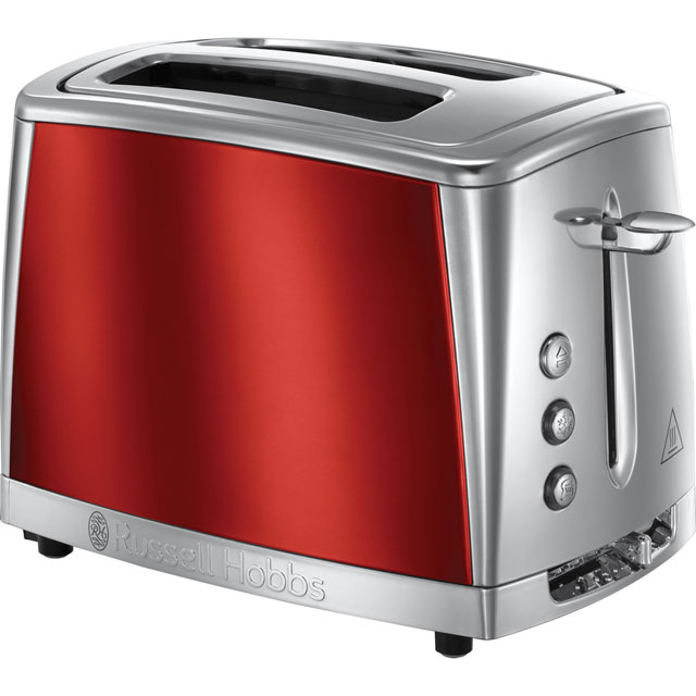 Russell Hobbs Luna 23220 2 Slice Toaster - Red