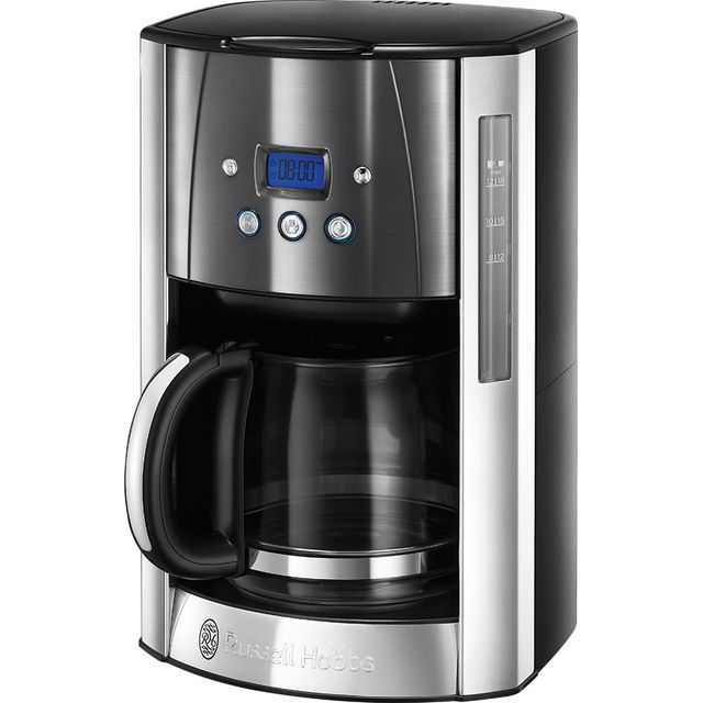 Russell Hobbs Luna 23241 Filter Coffee Machine with Timer - Grey - 23241_MGY - 1