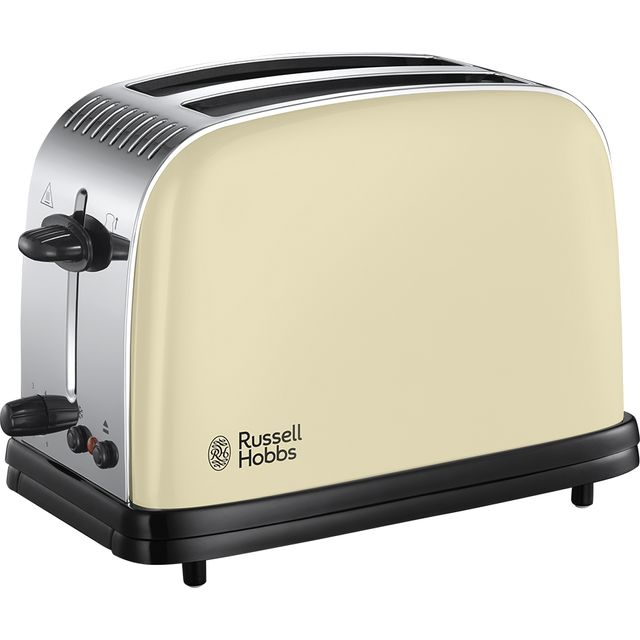 Russell Hobbs Colours Plus 23334 2 Slice Toaster - Cream