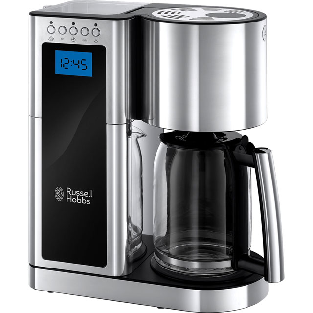 Russell Hobbs Elegance Filter Coffee Machine - Polished Stainless Steel