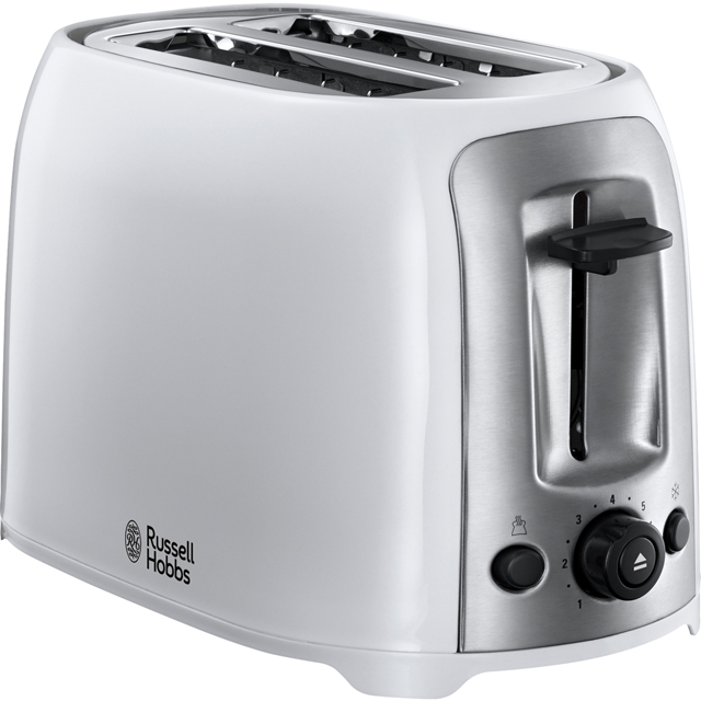 Russell Hobbs Darwin Toaster in White