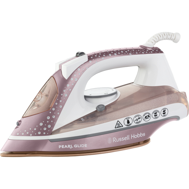 Russell Hobbs Pearl Glide 23972 Iron - Pink - 23972_PI - 1