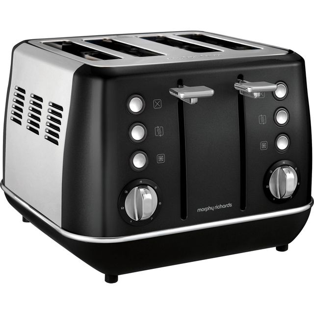 Morphy Richards Evoke 4 Slice Toaster - Black