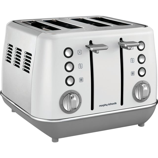 Morphy Richards Evoke 240109 4 Slice Toaster - White - 240109_WH - 1