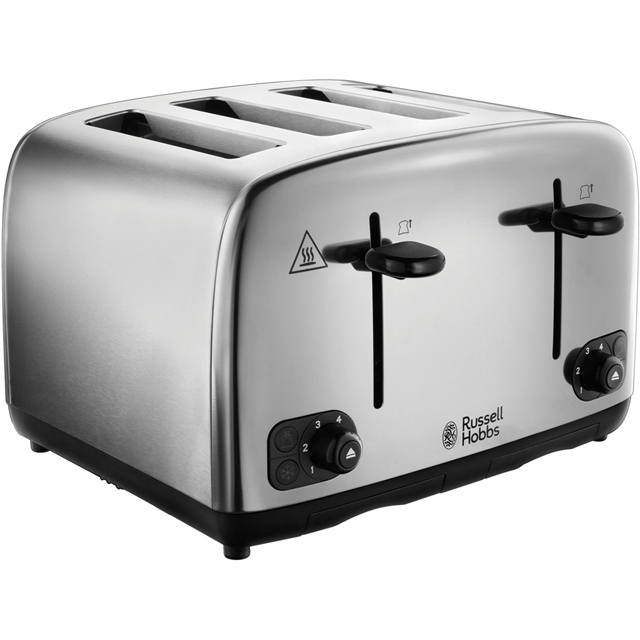 Russell Hobbs Adventure 24090 4 Slice Toaster - Stainless Steel