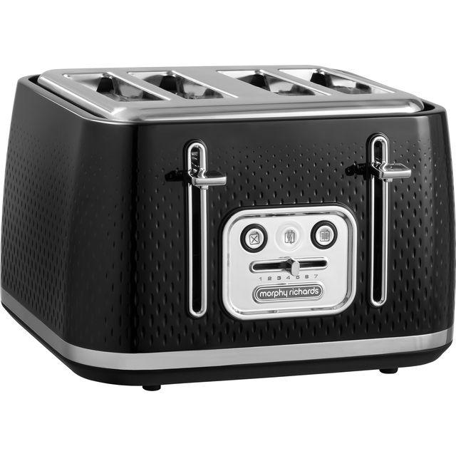 Morphy Richards Verve 243010 4 Slice Toaster - Black