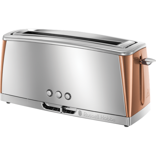 Russell Hobbs Luna 24310 2 Slice Toaster - Copper