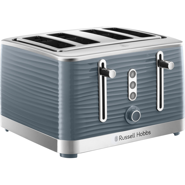 Russell Hobbs Inspire 24383 4 Slice Toaster - Grey - 24383_GY - 1