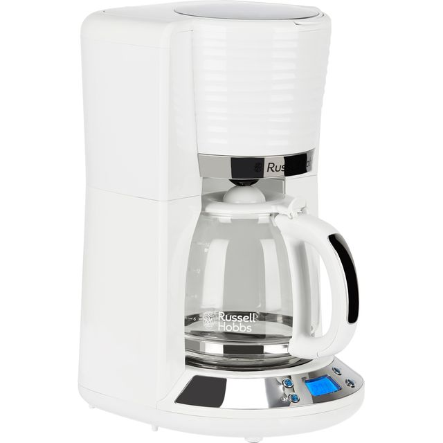 Russell Hobbs Inspire 24390 Filter Coffee Machine - White