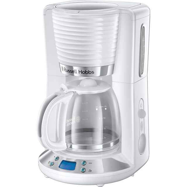Russell Hobbs Inspire 24390 Filter Coffee Machine - White - 24390_WH - 1