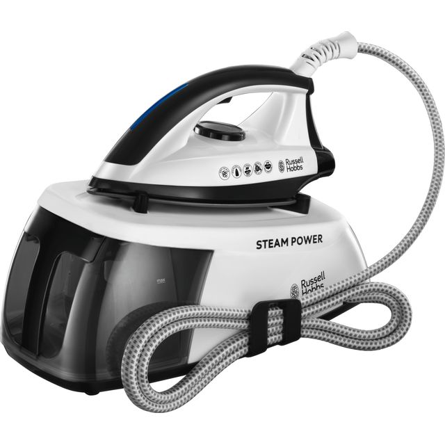 Russell Hobbs 24420 Pressurised Steam Generator Iron - Black / White - 24420_BKWH - 1