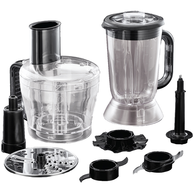 Russell Hobbs Desire 24732 1.5 Litre Food Processor With 6 Accessories - Black - 24732_BK - 1