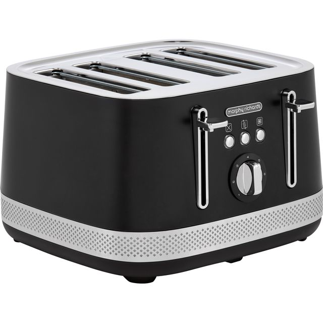 Morphy Richards Illumination 248020 4 Slice Toaster - Black