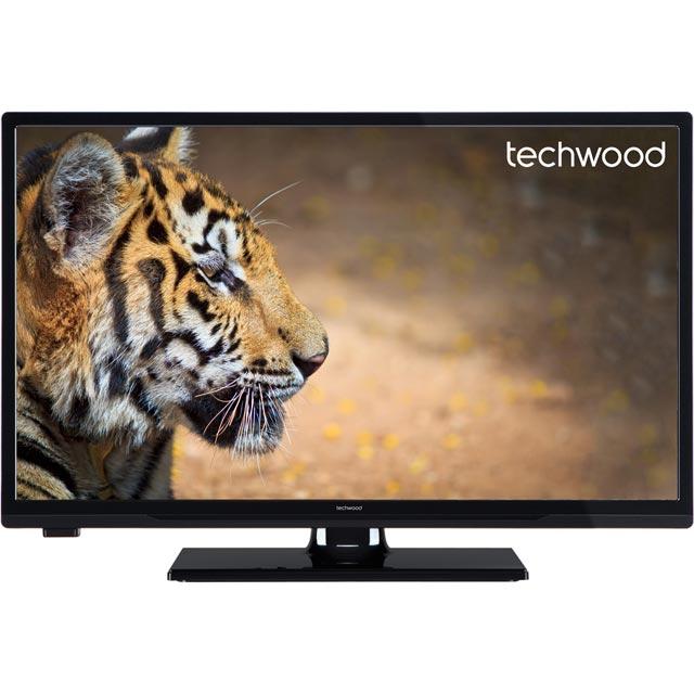 Techwood 24AO7USBDVD Led Tv in Black