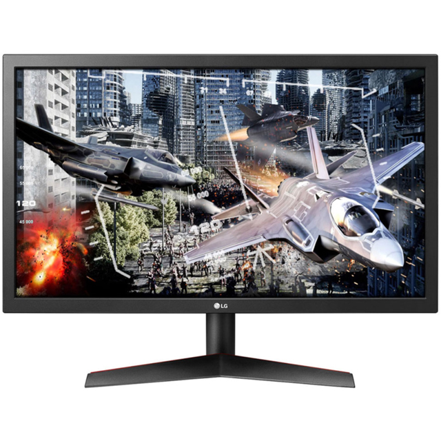 "LG Full HD 23.6"" 144Hz Gaming Monitor with AMD FreeSync - Matte Black"