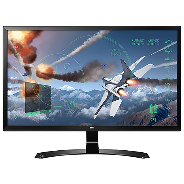 "LG 24UD58 Ultra HD 24"" 60Hz Gaming Monitor with AMD FreeSync - Black - 24UD58 - 1"