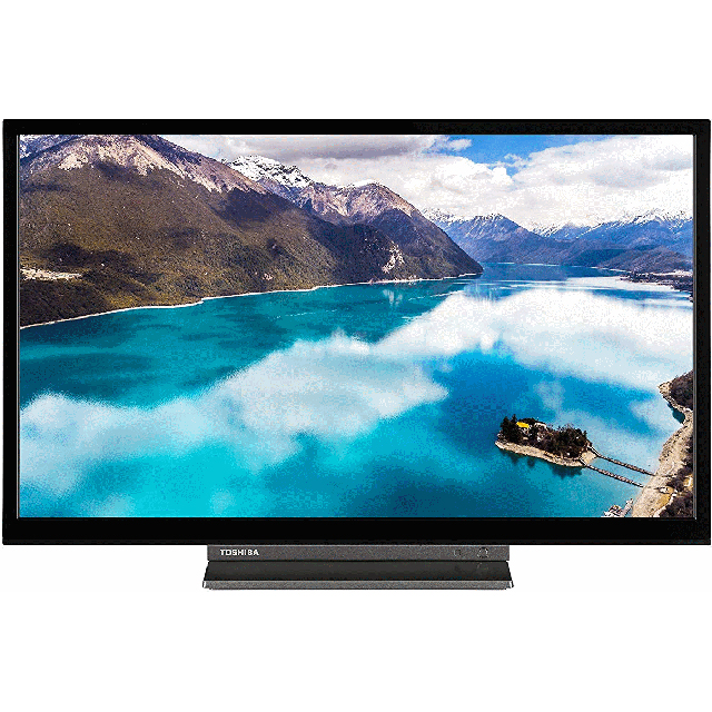 "Toshiba 24"" 720p HD Ready TV - 24WD3A63DB - 24WD3A63DB - 1"