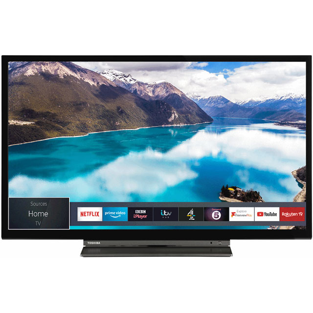 "Toshiba 24WL3A63DB 24"" Smart 720p HD Ready TV with Freeview Play - 24WL3A63DB - 1"