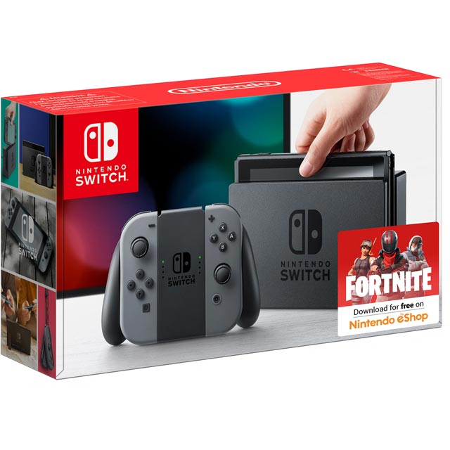Nintendo Switch 32GB - Grey - 2500046 - 1