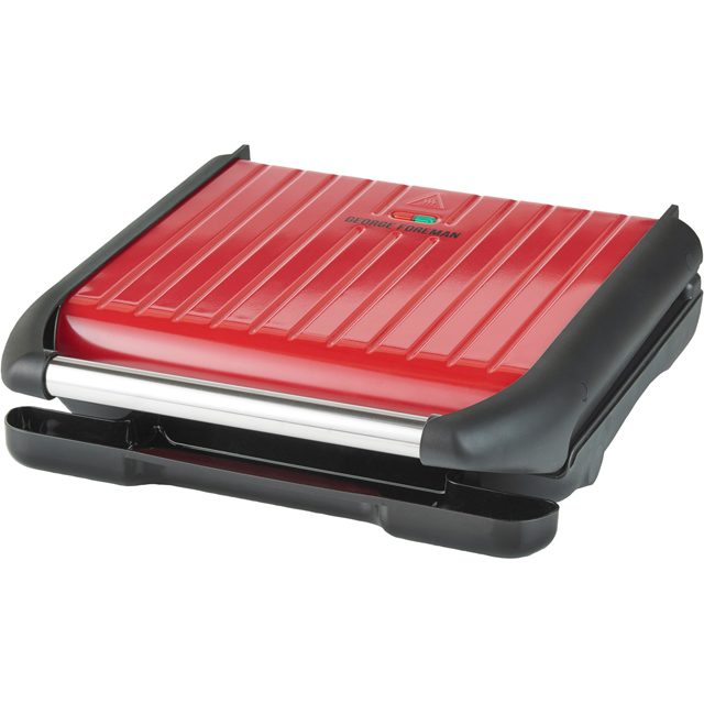Image of George Foreman 7 Portion 25050 Health Grill - Red
