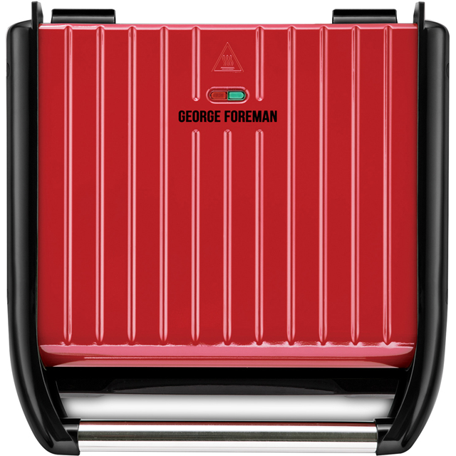 George Foreman 7 Portion 25050 Health Grill - Red - 25050_RD - 1