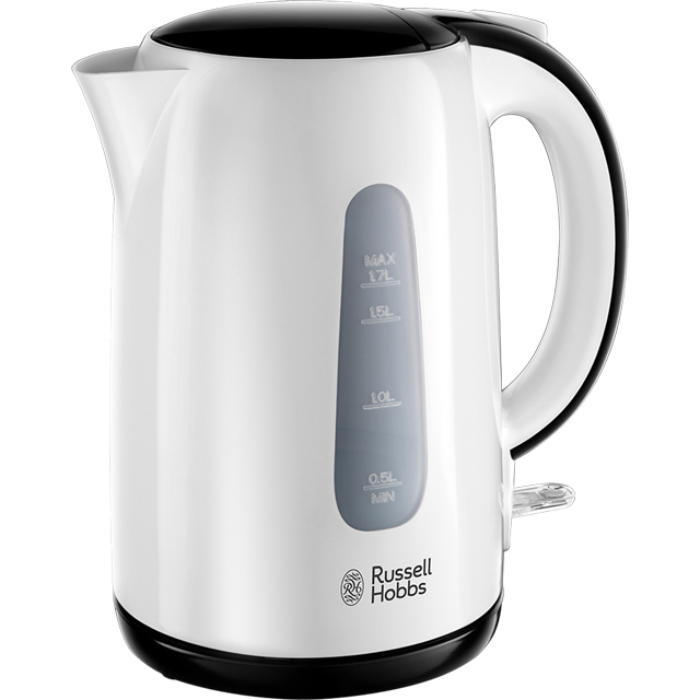 Russell Hobbs My Breakfast 25070 Kettle - White / Black - 25070_WHBK - 1