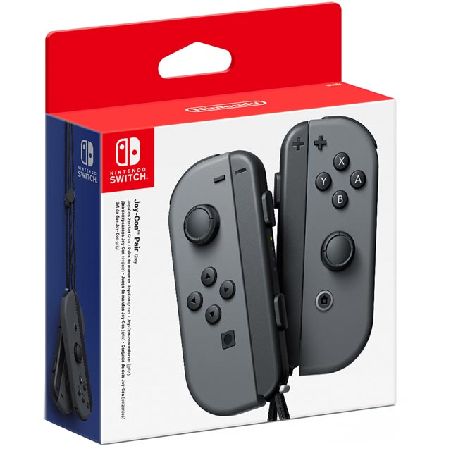 Nintendo Grey Gaming Controller - 2510066 - 2510066 - 1