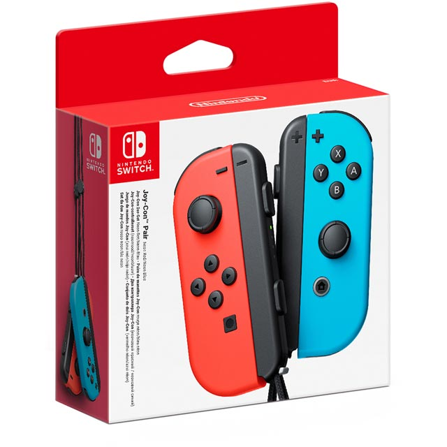 Nintendo Gaming Controller - Neon Red/Blue
