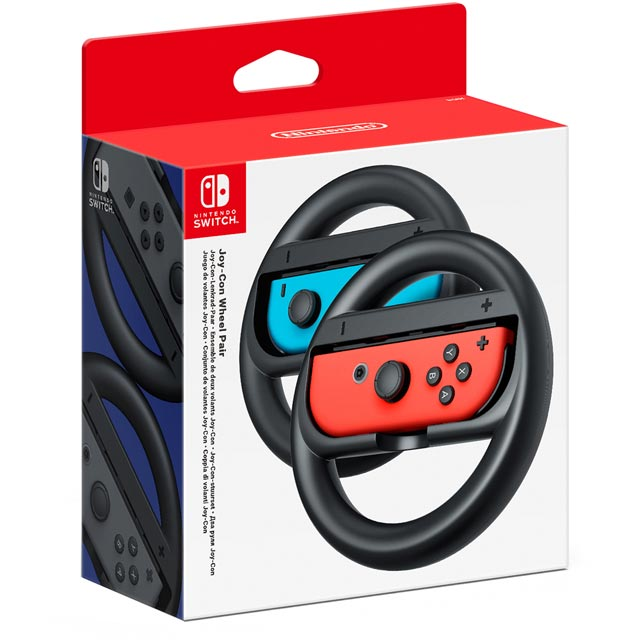 Nintendo 2511166 Gaming Wheel in Black