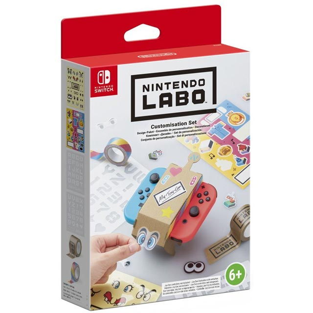 Nintendo Games Nintendo LABO Customisation Set 2512966 Games