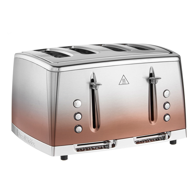 Russell Hobbs Eclipse 25143 4 Slice Toaster - Copper - 25143_COP - 1