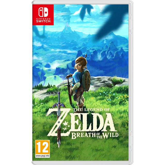 The Legend of Zelda - Breath Of The Wild for Nintendo Switch - 2520046 - 1