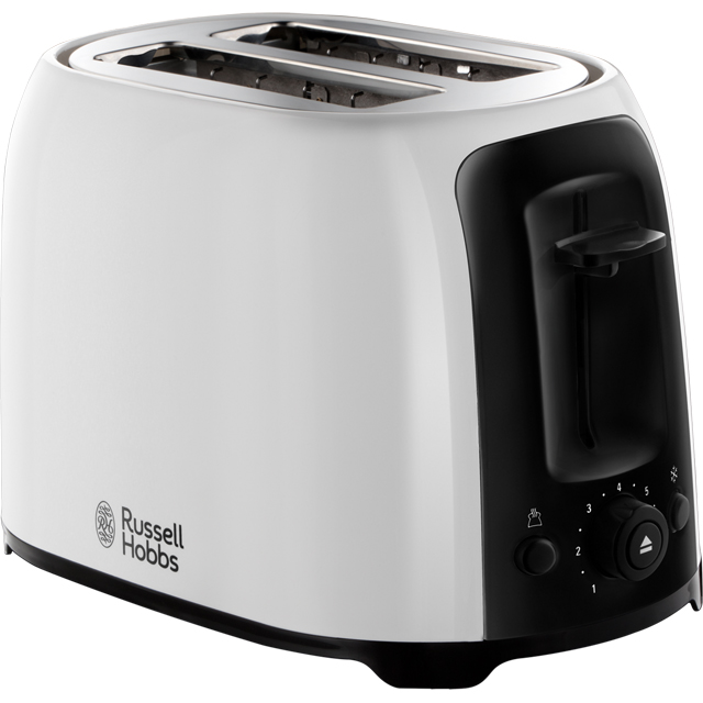 Russell Hobbs My Breakfast 25210 2 Slice Toaster - White / Black