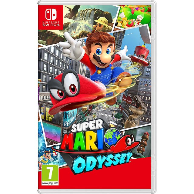 Super Mario Odyssey for Nintendo Switch Game