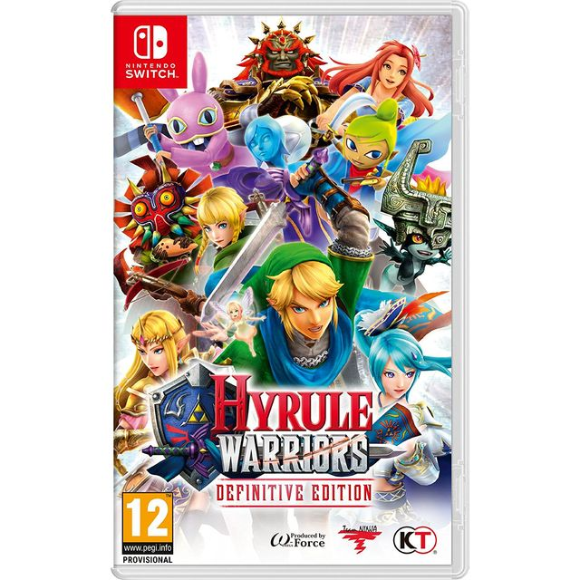 Hyrule Warriors: Definitive Edition for Nintendo Switch - 2523146 - 1