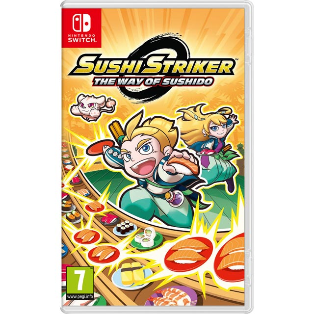 Sushi Striker: The Way of the Sushido for Nintendo Switch - 2523446 - 1