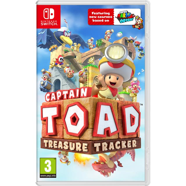 Captain Toad's Treasure Tracker for Nintendo Switch - 2523646 - 2523646 - 1