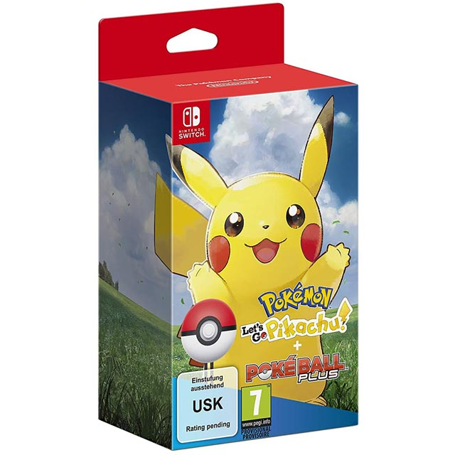 Pokemon: Let's Go! Pikachu! for Nintendo Switch