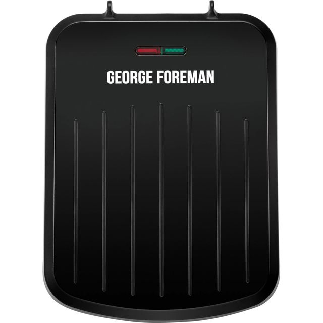 George Foreman Fit Grill - Small Health Grill - Black