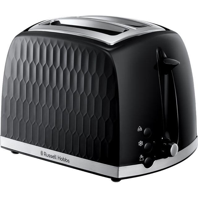 Russell Hobbs Honeycomb 26061 2 Slice Toaster - Black