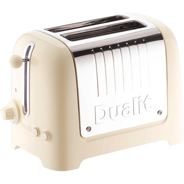 Dualit Lite 26202 2 Slice Toaster - Gloss Cream - 26202_CR - 1
