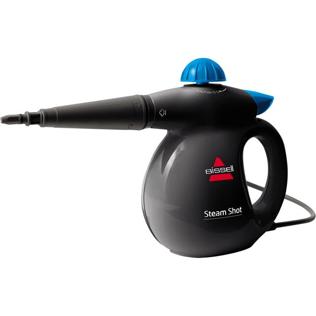 Bissell Steam Shot Steam Cleaner in Titanium / Blue