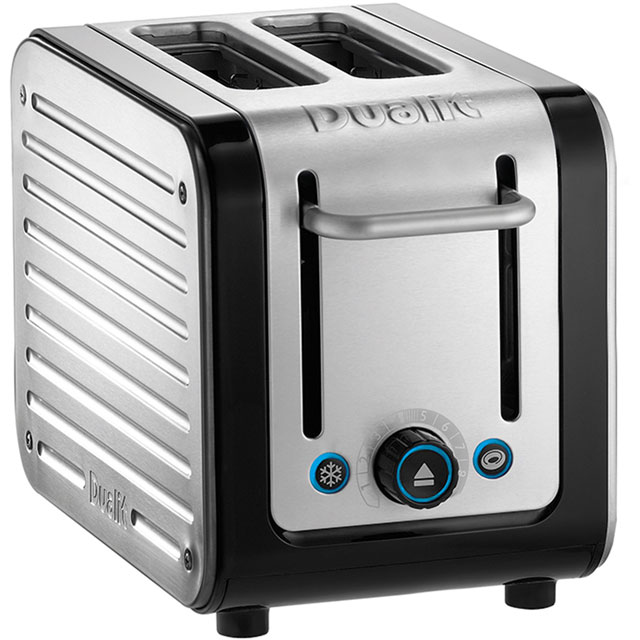 Dualit Architect 26505 2 Slice Toaster - Black / Brushed Steel - 26505_BKB - 1
