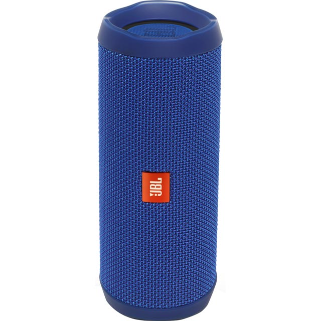 JBL Audio FLIP 4 Wireless Speaker in Blue