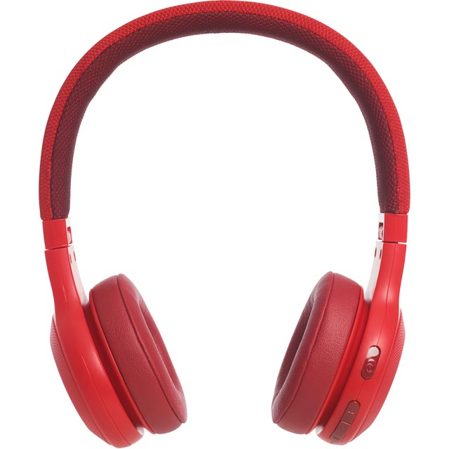 JBL E45BT Over-ear Wireless Headphones - Red